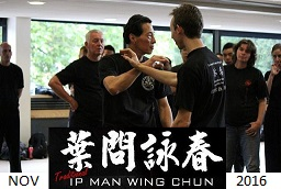 Wing Chun Seminar Cape Town - November 2016